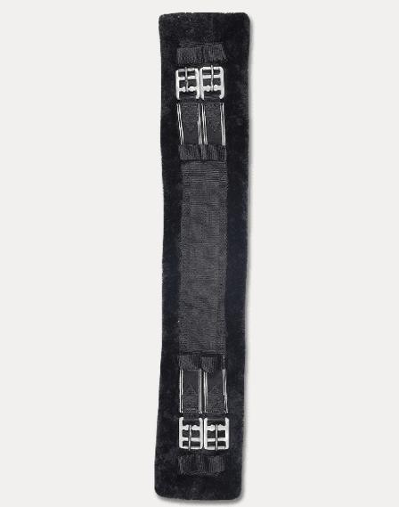 Sangle courte avec fourrure synthétique du 40 au 90 cm