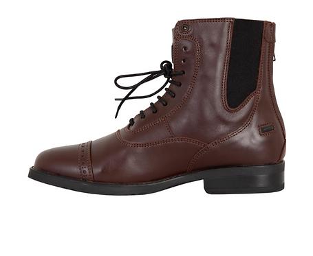 Boots Jodphur BR CL Lacets Comtesse Cuir Brun ou Noir du 36 au 46