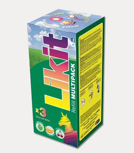 LIKIT ASSORTIMENT 3 X 650 G