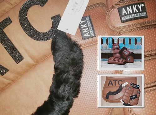 Ensemble Anky - ATC Tapis taille Cheval Mixte Protection et Cloches Taille L