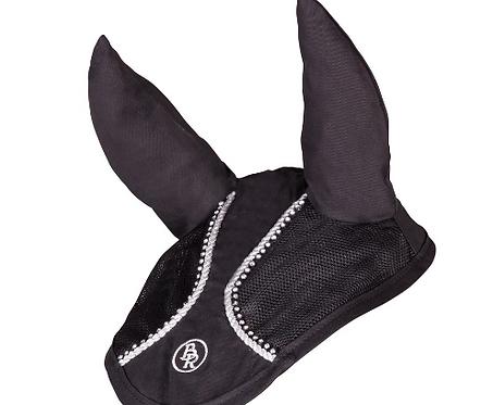 Bonnet BR Glamour Chic Noir et Argent Taille Full