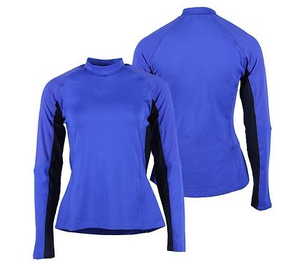 T-Shirt de cross QHP Eldorado Coloris Tangerine Taille 40