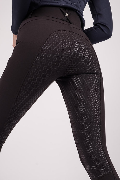 Pantalon Montar Molly Yati Highwaist NEW Edition Noir Fullgrip