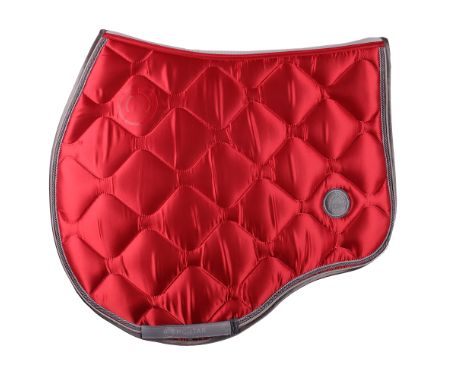 Tapis de selle Dlux jumping MONTAR Rouge Taille Cheval