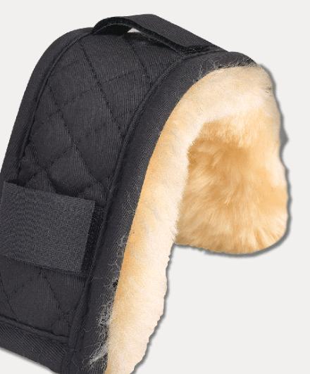 Protection museau et nuque en mouton véritable