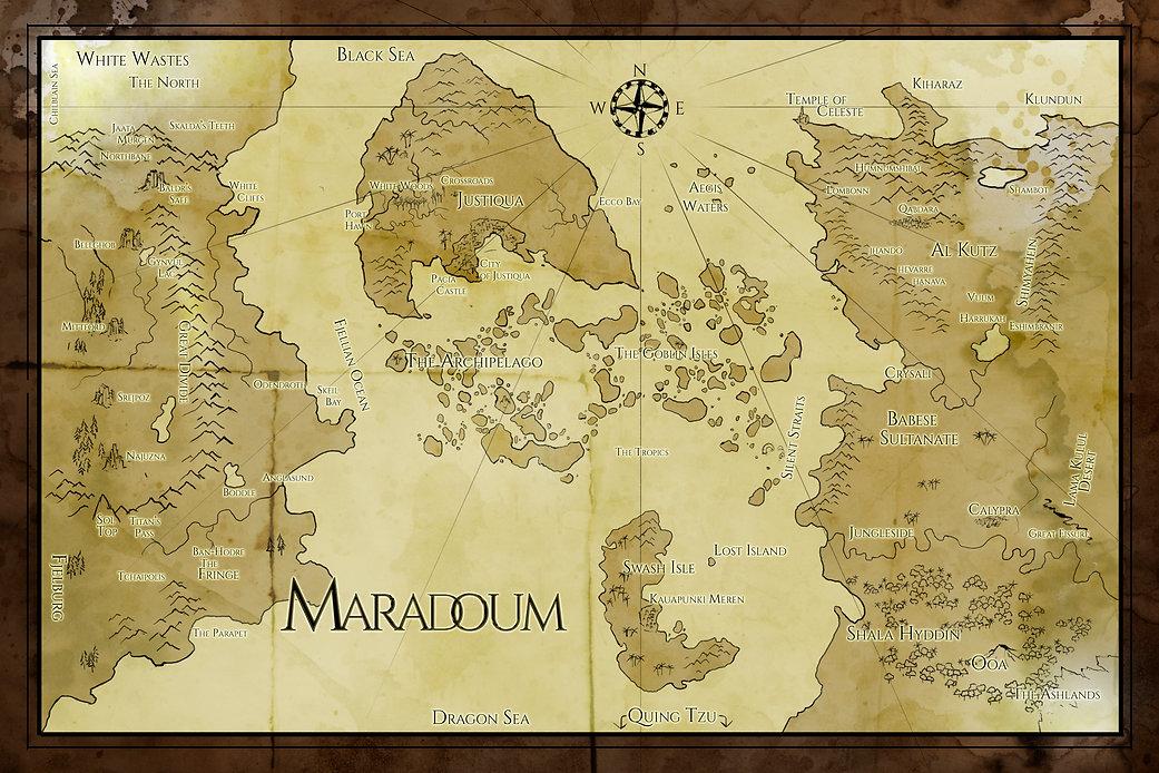 Map of Maradoum