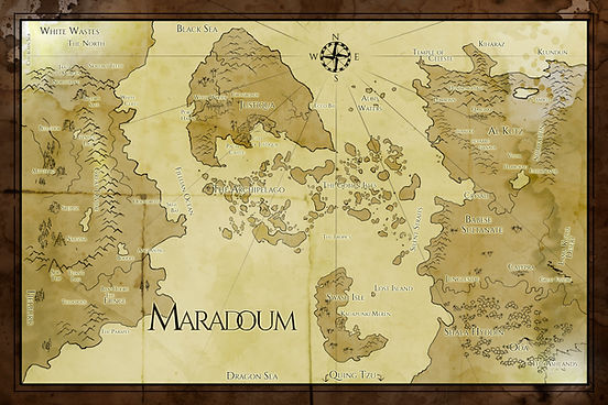 Map of Maradoum