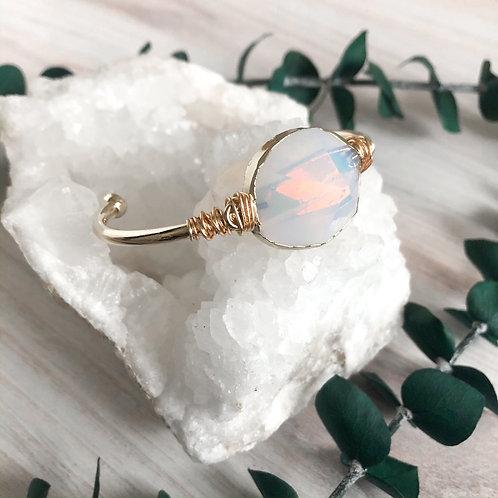 Opal bangle