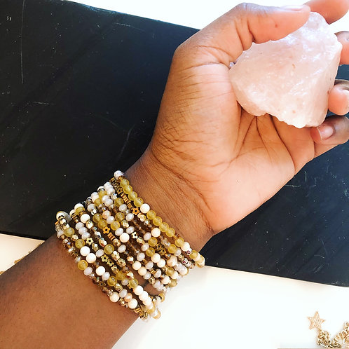 Citrine Multi Wrap