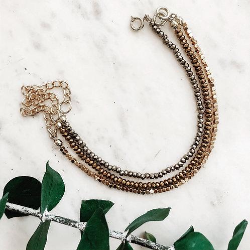 Hematite Trio Bracelets