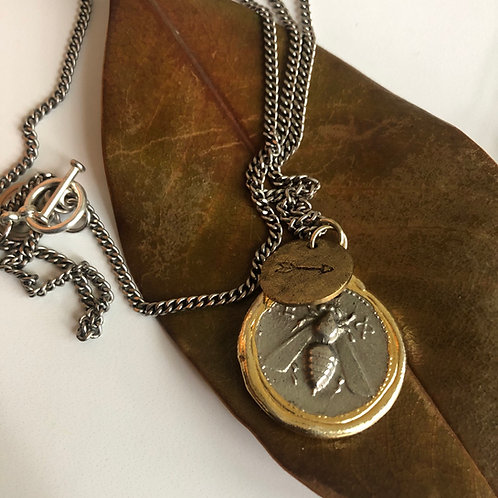 Forest Necklace (Antique Silver)