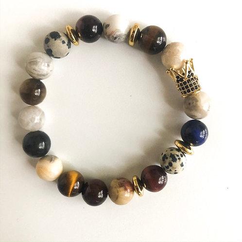 Elevated Crown Bracelet