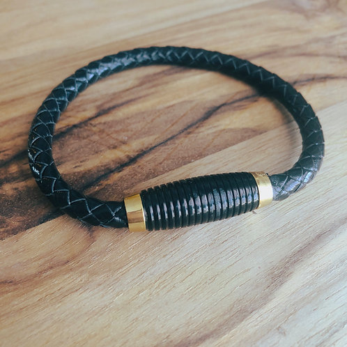 Strength Braided Magnetic Bracelet