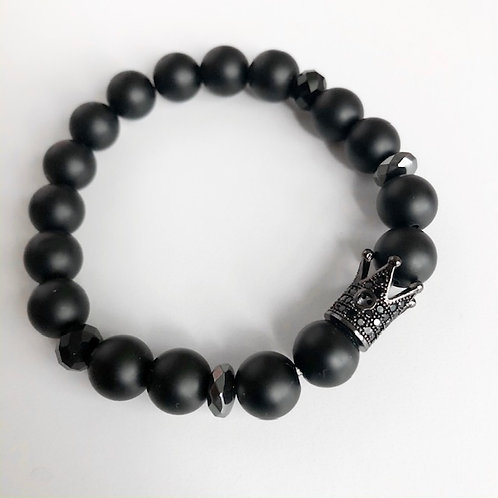Royal Onyx Bracelet (10mm)