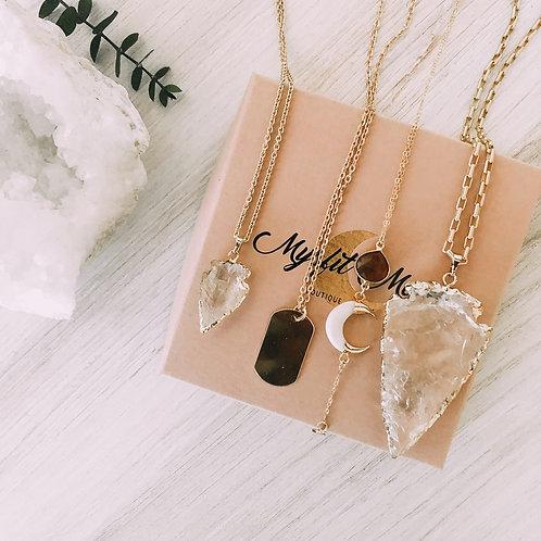 Mini Quartz Necklace