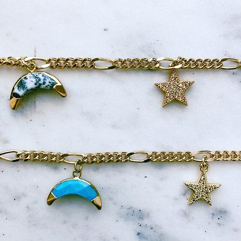Galaxy Charm Bracelet