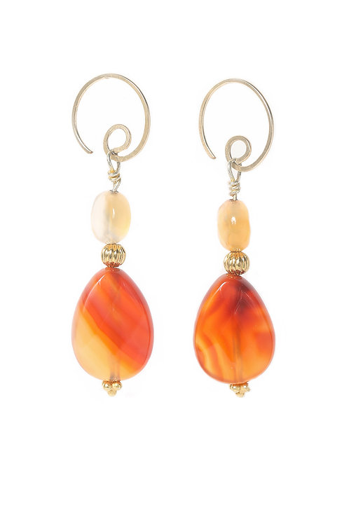 Flame On Earrings