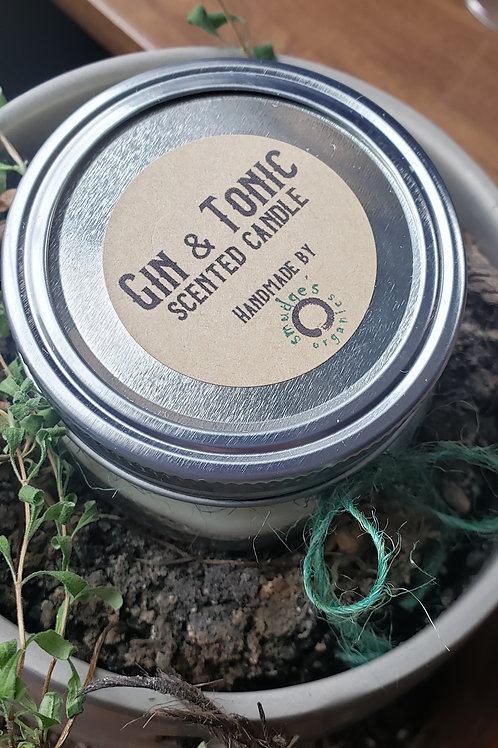 Gin & Tonic Scented Soy Candle