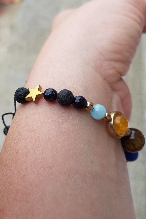 Solar System Diffuser Bracelet