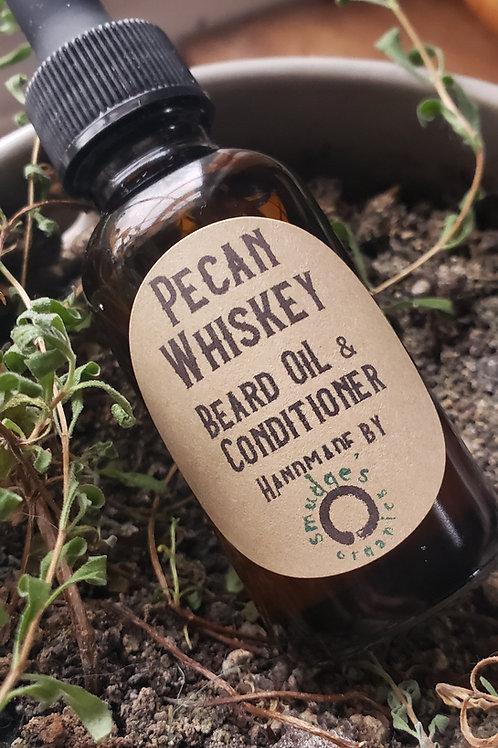 Pecan Whiskey Beard Oil & Conditioner