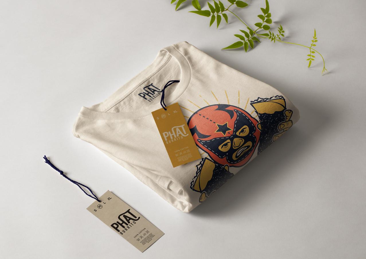 Phat Burrito - custom shirt design