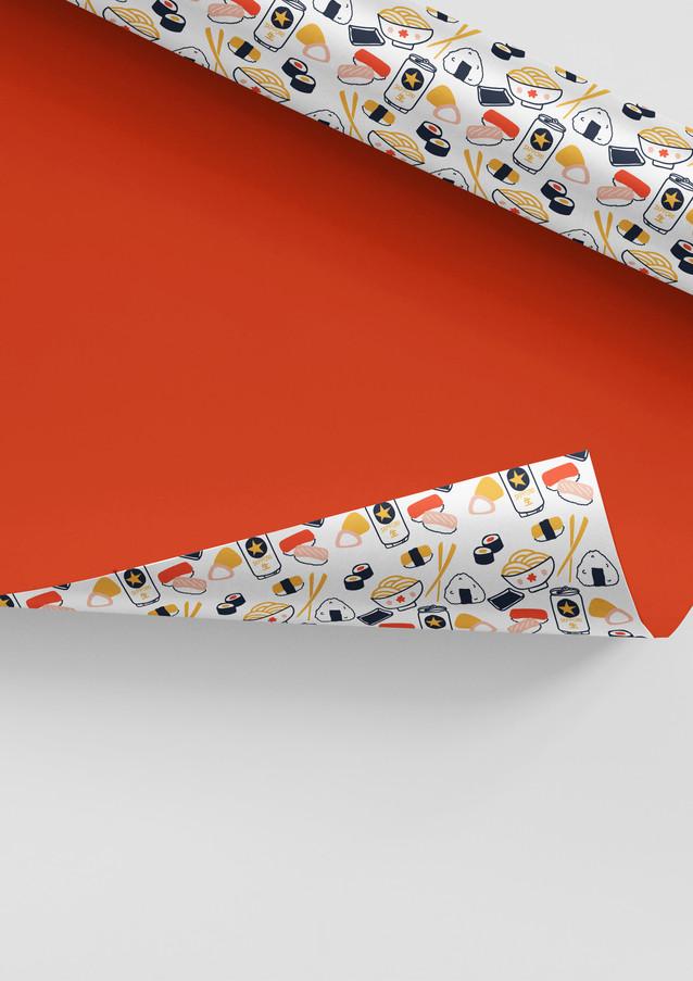 Custom Japanese textile design