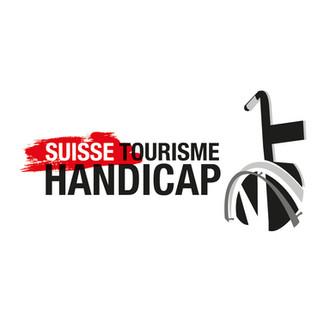 Logo Suisse tournisme handicap