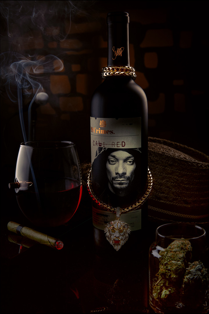 SNOOP Red wine.