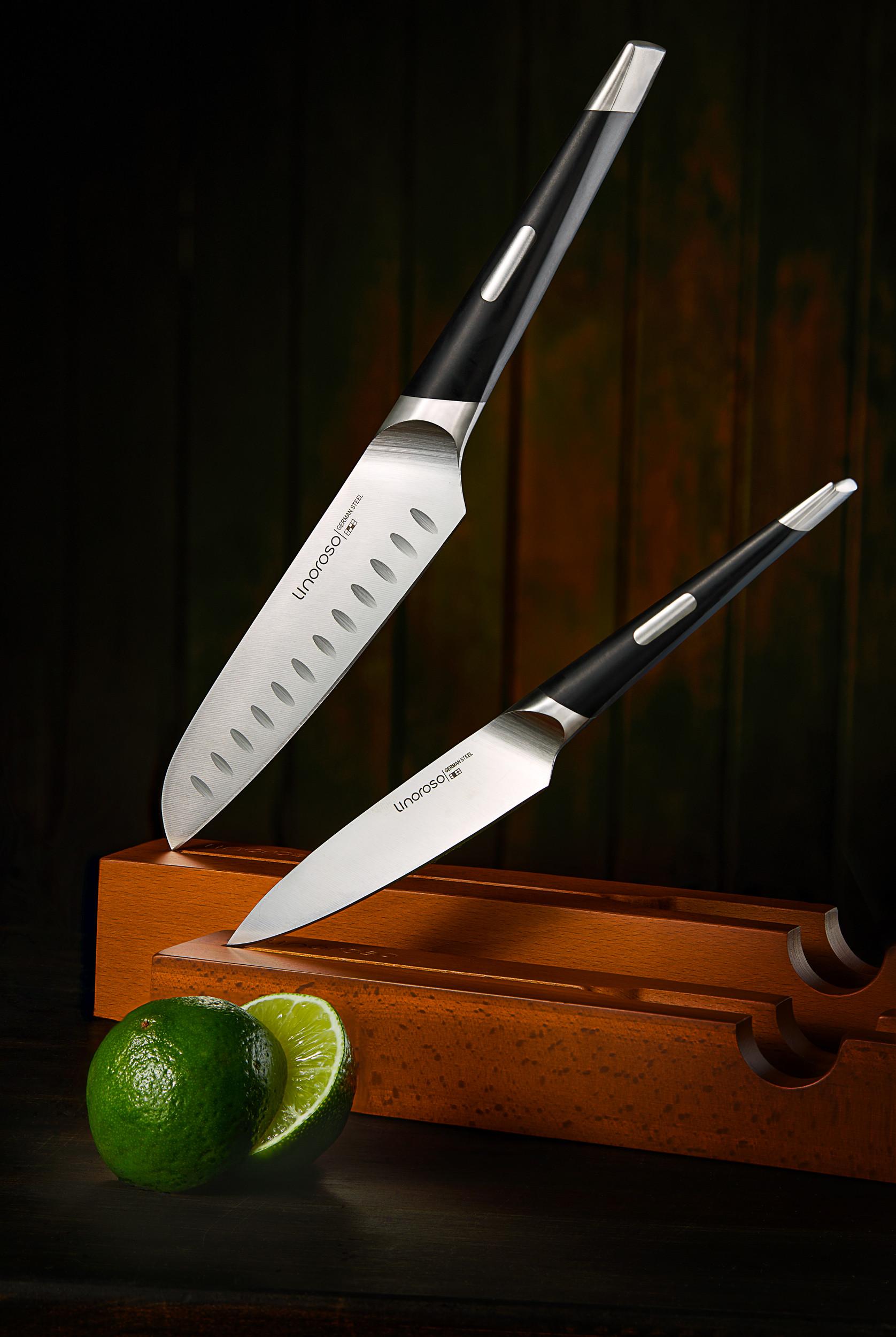 Knives.