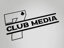 7clubmedia logo on white