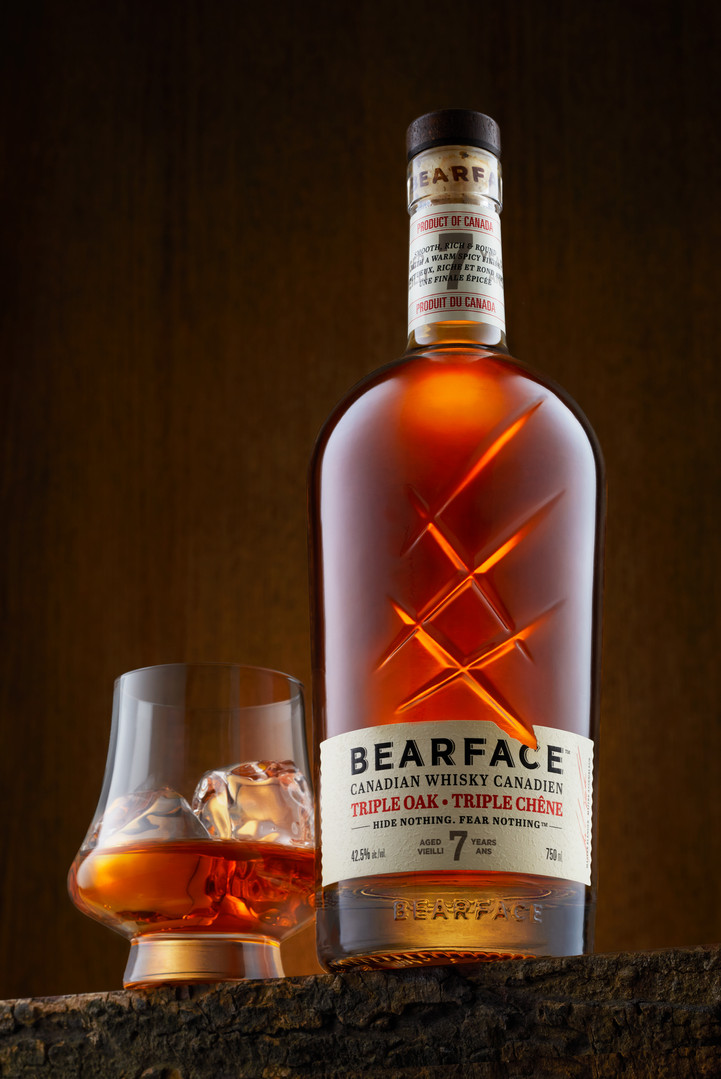 Bearface Canadian Whisky.