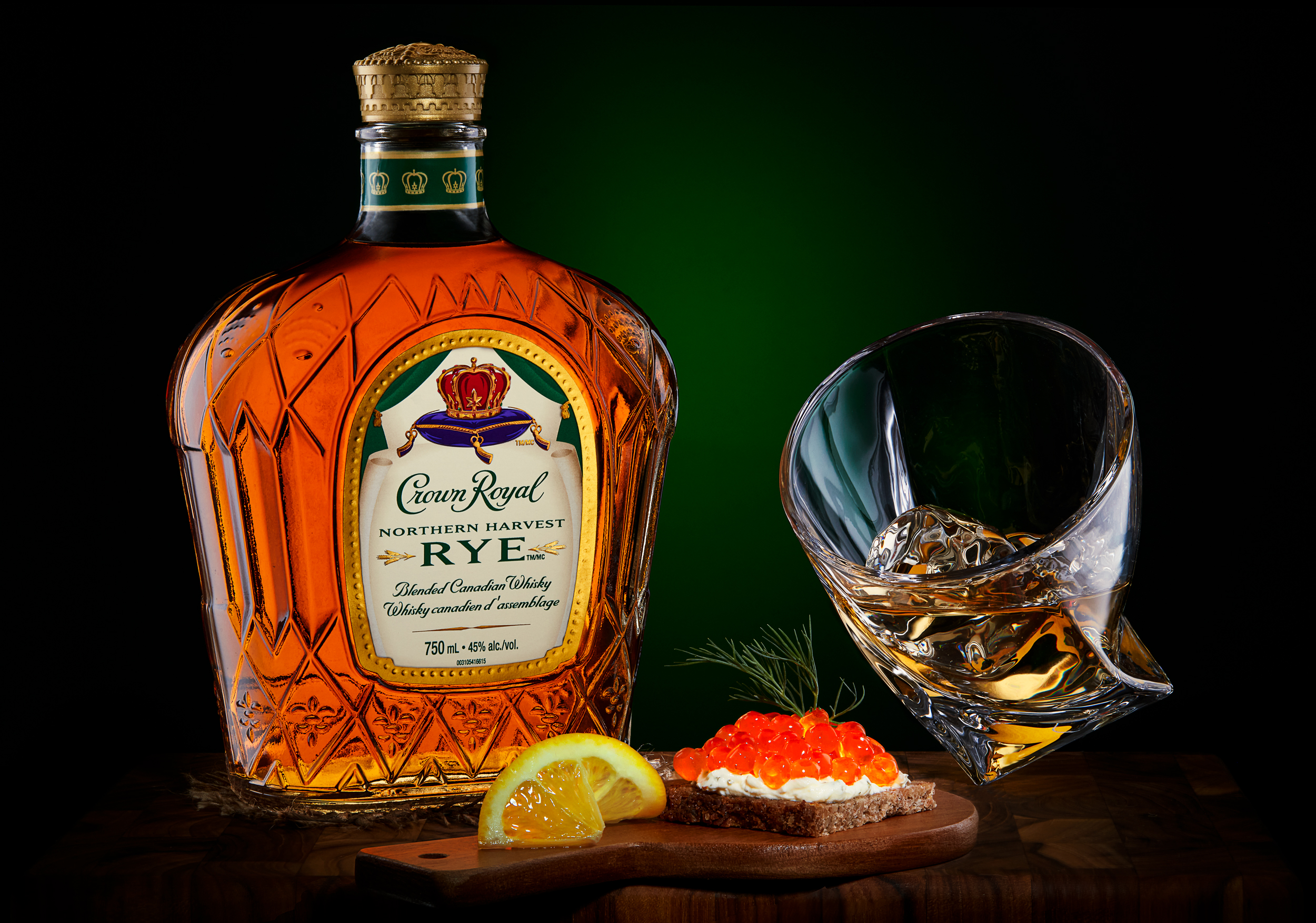 Crown Royal RYE Whisky.