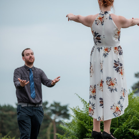 Pre Wedding Photoshoot - Becky and Gary