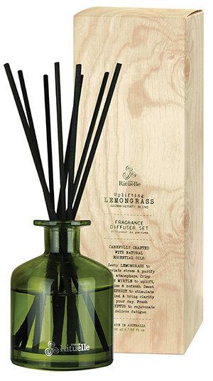 Lemongrass, Lemon Myrtle, Grapefruit & Eucalyptus Fragrance Diffuser Set 190ml