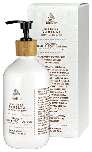 Vanilla, Lavender & Geranium Organic Hand & Body Lotion 500ml