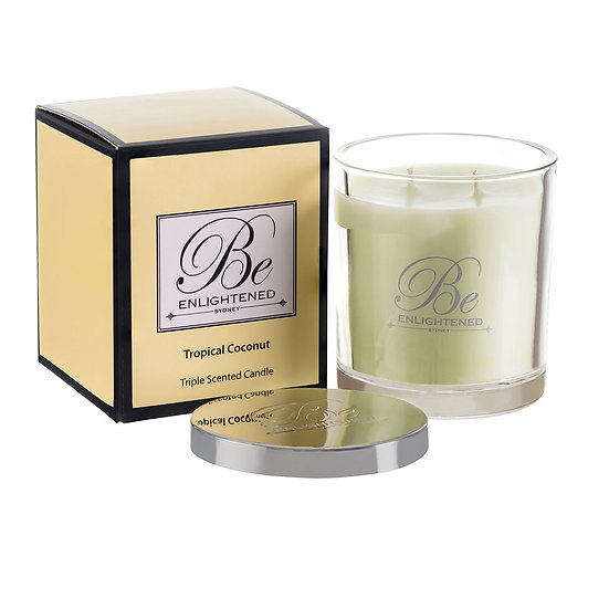 Tropical Coconut Triple Scented Candle 400g