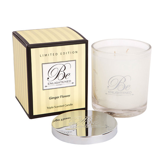 Ginger Flower Triple Scented Candle 400g