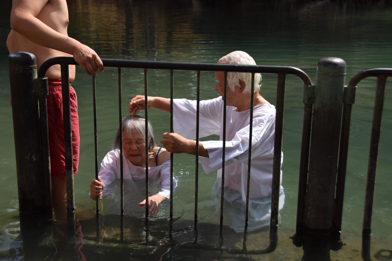טבילה בירדן