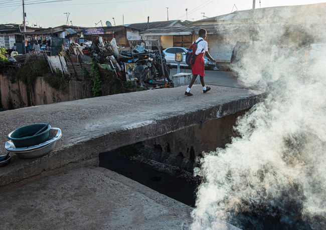 עשן אדום בגאנה