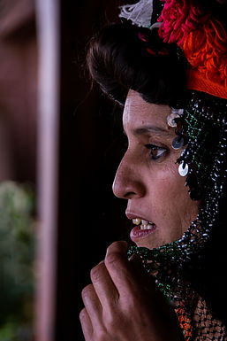שחור אדום ומחשבות במרוקו