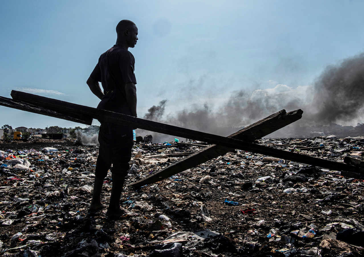 סוף הדרך באתר הפסולת האלקטרונית הגדול בעולם בגאנה