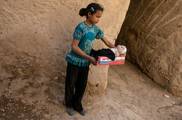 בובה למכירה בכפר בוץ במרוקו