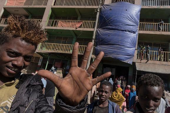 בשוק הגת הגדול באתיופיה