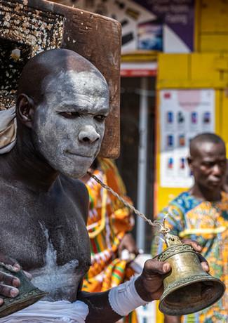 נושא אפיריון המלך בגאנה