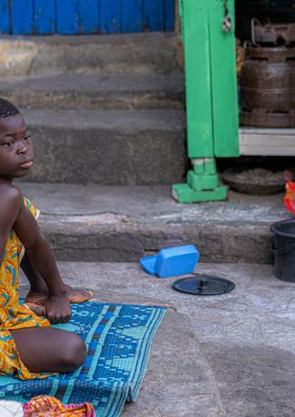 פסל אצילי בגאנה