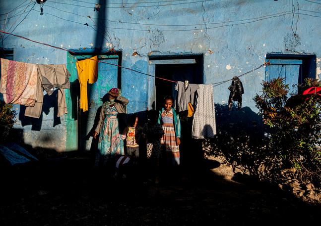 באתיופיה הם הסתכלו עלינו בסקרנות לא   פחות מאשר אנחנו עליהם