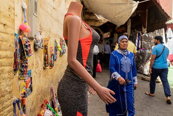 יד מלטפת במרוקו