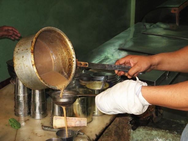בית קפה בהודו