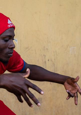 """הפועל גאנה"""" על המגרש בכפר קטן אי שם"""""""
