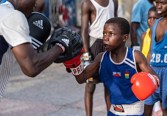 אימון שכונתי בגאנה